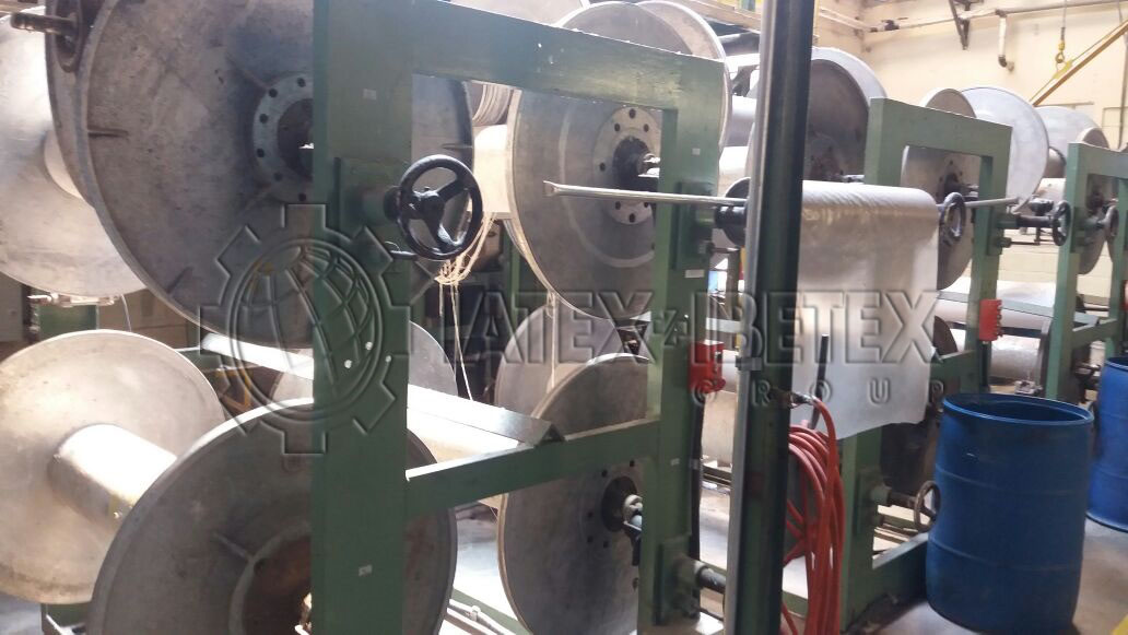 01 x Set Sizing Machine and Warping Machine